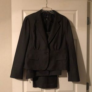 Nine West Dark Brown 2 piece business suit
